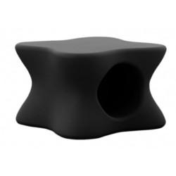 Mesa de centro de Mesa suave negro de Vondom