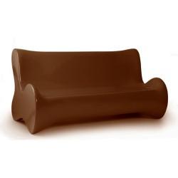 Suave del sofá de bronce de Vondom