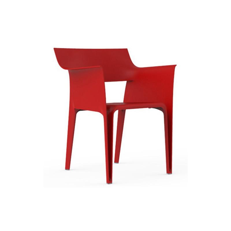 fauteuil pedrera vondom rouge. Black Bedroom Furniture Sets. Home Design Ideas
