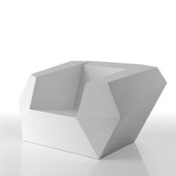 Poltrona FAZ Vondom bianco
