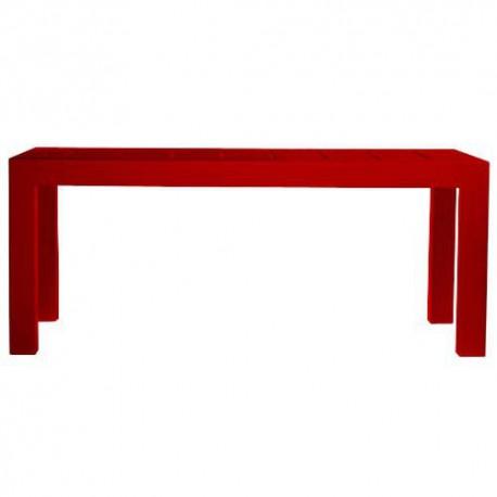 Jut Mesa 180 Table rectangular Vondom Red