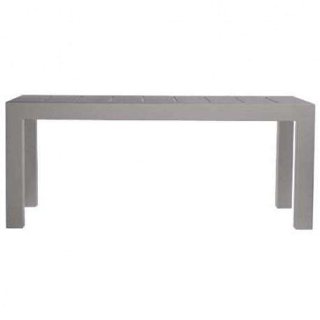 Jut Mesa 180 Vondom Grey Rectangular Table