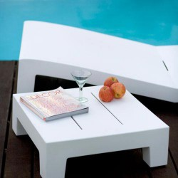 Jut Mesa 60 Table low Vondom white