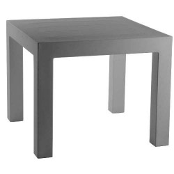 Jut Mesa 90 Table Haute Vondom Gris