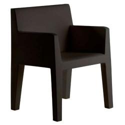 突出的椅子 Vondom 黑沟