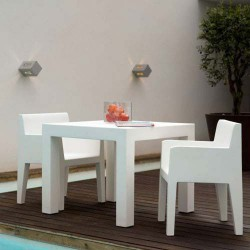 Jut furrow Chair Vondom white