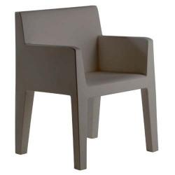 Jut furrow Chair Vondom grey