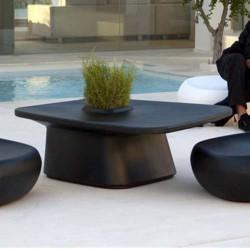 Низкий стол плантатор черный Vondom MoMA
