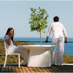 Medium Table planter white Vondom MoMA