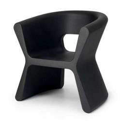 Sulco PAL empuxo cadeira preta