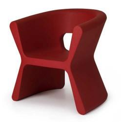 Sulco PAL cadeira vermelha de empuxo