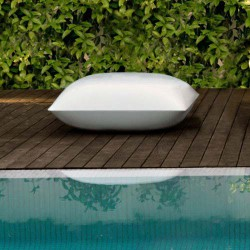 Pillow Puff Pouf Vondom Blanc