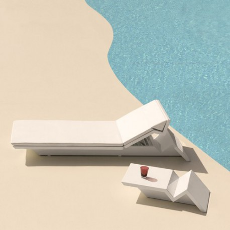 Rest bath Sun Vondom white Matt