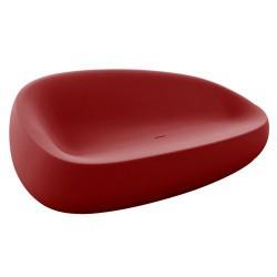 Pedra vermelha de empuxo de sofá