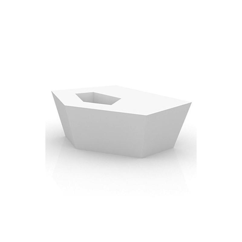 table banc faz vondom blanc. Black Bedroom Furniture Sets. Home Design Ideas
