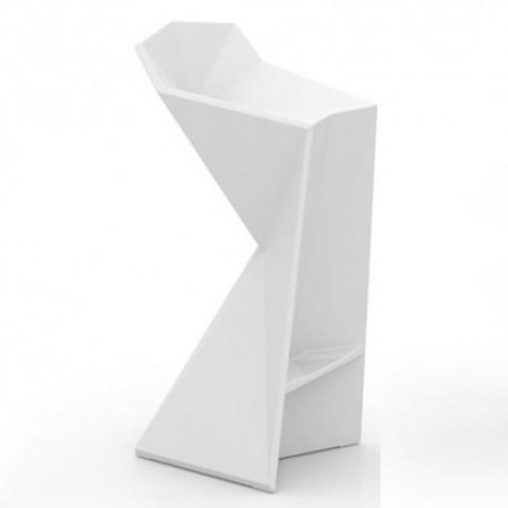 Tabouret Vertex Vondom Blanc