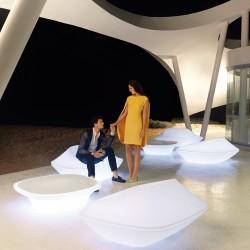 Poltrona UFO bianco di Vondom
