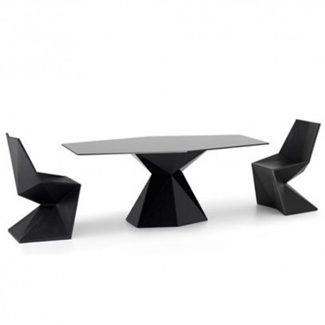 Vertex Mesa Table Vondom black