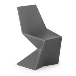Gris de Vondom de silla Silla Vertex