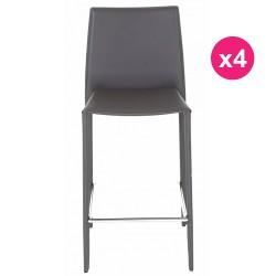 Set of 4 chairs Work Plan gray KosyForm