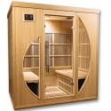 Sauna a raggi infrarossi Orwen Club 4 posti VerySpas