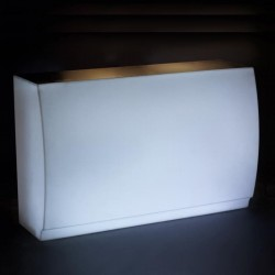 Bar Fiesta Vondom illuminated white 180 cm right