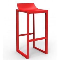 Топ Уолл-стрит Vondom красный стул