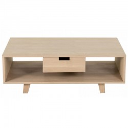 Table rectangular oak with drawer Puper KosyForm bass