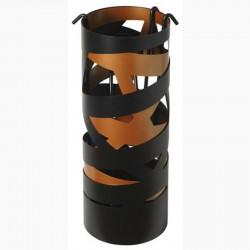 Serviteur Ruban Noir Givré-Cuivre avec Accessoires Noirs Dixneuf Design