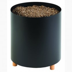 Storage to pellet Blend black frosted Dixneuf Design