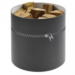 Wood gray steel-white Dixneuf Design Flash storage