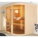 Sauna vapor 9 kW tradicional finlandês 5 lugares Spherium Prestige - exclusivo VerySpas