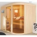 Sauna vapore 9 kW tradizionale finlandese 5 Sedili Spherium Prestige - VerySpas esclusivo