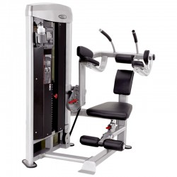 Abdominaux Crunch Machine Pro MAM-900 Mega Power Steelflex