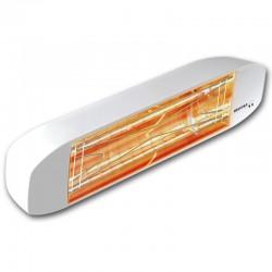 Calefacción infrarroja Heliosa Hi diseño 11 blanco Carrara 1500W IPX5