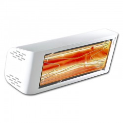 Heating infrared Heliosa Hi Design 44 white Carrara 2000W IPX5