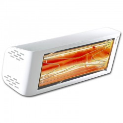 Heating infrared Heliosa Hi Design 44 white Carrara 1500W IPX5