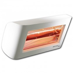 Chauffage Infrarouge Heliosa Hi Design 55 Blanc Carrara 2000W IPX5