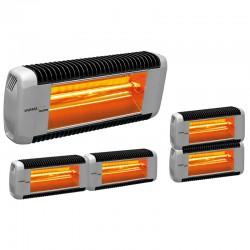 Calefacción infrarroja Varma tándem infrarrojo 2000 Watts