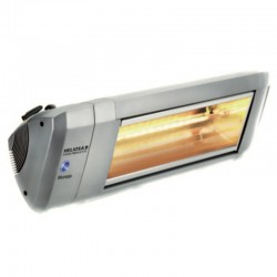 Heating Electric infrared HELIOSA model 9-2 Silver - 4000 W IPX5 Bluetooth