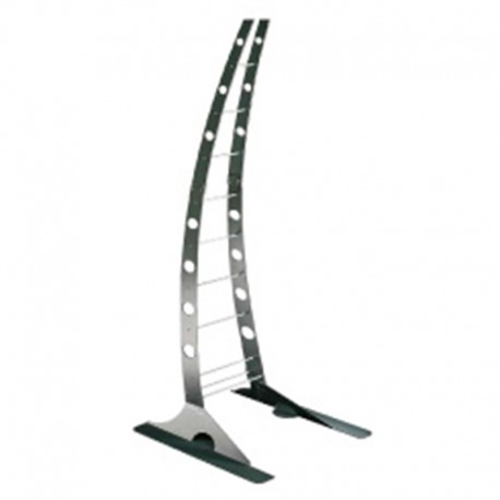 Heliosa Pied Design Giraffa en Structure Acier Hi Design
