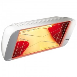 Chauffage Infrarouge Heliosa Hi Design 66 Blanc Carrara 2000W IPX5