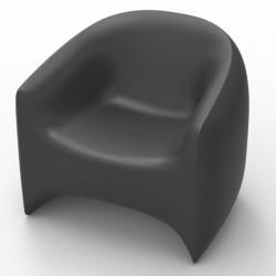 Blow VONDOM sillón antracita Matt