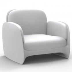 Poltrona VONDOM Lounge Pezzettina tappetino bianco