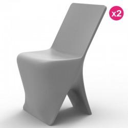 مجموعه من 2 الكراسي فوندوم تصميم Sloo Grisr
