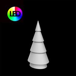 Christmas tree multicolor forest Vondom height 150 led RGBW