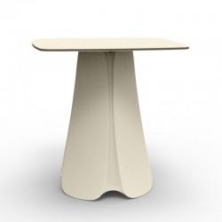 Design table Pezzettina Vondom Ecru 90x90xH72