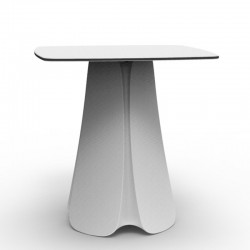 Table Design Pezzettina Vondom Blanc 80x80xH72