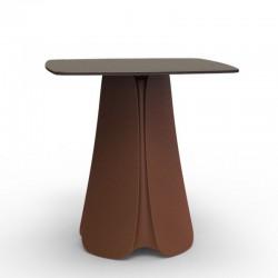 Design table Pezzettina Vondom white 70x70xH73