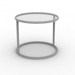 Coffee table KEs Vondom grey 40 cm